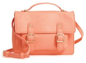 Bp. Buckle Crossbody Satchel - Orange