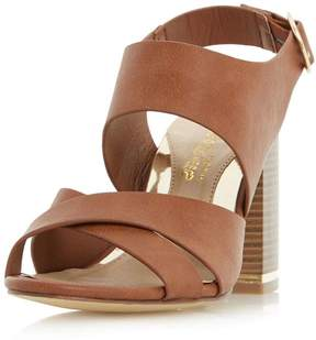 Head Over Heels *Head Over Heels by Dune Tan 'Jaya' High Heel Sandals