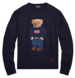 Ralph Lauren The Iconic Polo Bear Sweater Navy Xl