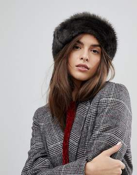 Brixton Hat with Faux Fur Trim