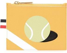 Thom Browne tennis print card holder