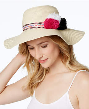 INC International Concepts Pom Pom Floppy Hat, Created for Macy's