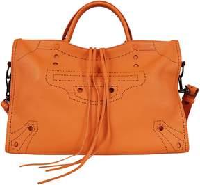 Balenciaga Blackout City Shoulder Bag