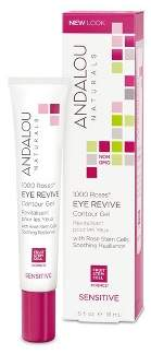 Andalou Naturals 1000 Roses Eye Revive Contour Gel - 0.6 Oz