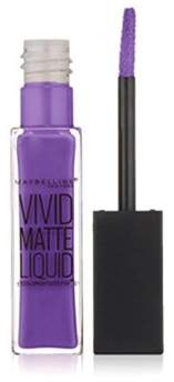Maybelline Color Sensational Vivid Matte Liquid Lip Color, 45, Vivid Violet.