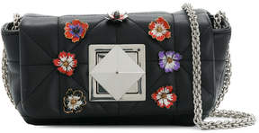 Sonia Rykiel Le Copain floral pin shoulder bag