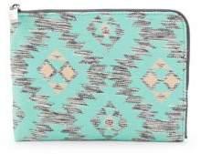 Deux Lux Textured Zip-Around Pouch