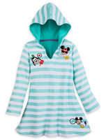 Disney Mickey Mouse and Friends Emoji Swim Cover-Up for Girls