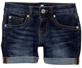 7 For All Mankind 3In Roll Cuff Shorts (Big Girls)