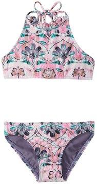 O'Neill Toddler Girls' Starlis High Neck Halter Bikini Set (2T6X) - 8159013