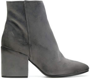Strategia zipped ankle boots