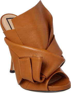 N°21 N21 Leather Bow Mule