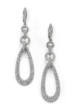 Adriana Orsini Women's Pavé Chain Link Teardrop Earrings