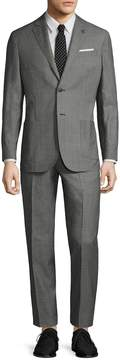 Michael Bastian Gray Label Men's Wool Mini Pindot Notch Lapel Suit