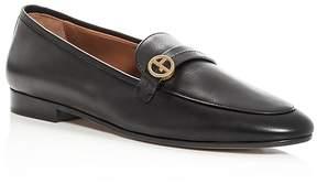 Giorgio Armani Women's Vitello Leather Loafers