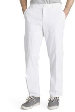 Izod Saltwater Stretch Classic Fit Flat Front Chinos