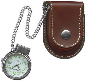 Dakota Men's Leather Pouch Pocket Watch 38462