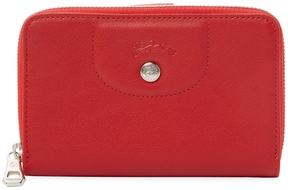 Longchamp Women's Solid Leather Long Wallet