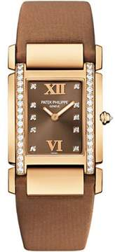 Patek Philippe 4920R/001 18K Rose Gold with Diamond 25mm Womens Watch