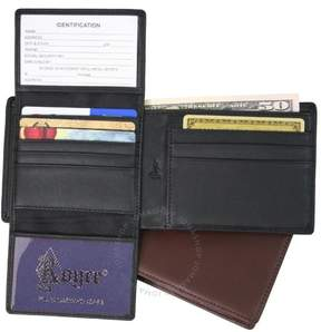 Royce Leather Royce RFID Blocking Genuine Leather Executive Bifold Wallet - Black