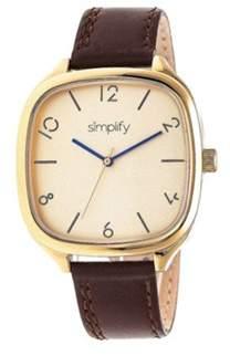 Simplify Men's The 3500 Quartz Watch.