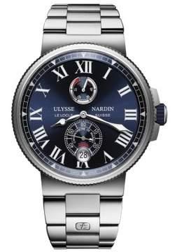 Ulysse Nardin Marine Chronometer Automatic Blue Dial Men's Watch