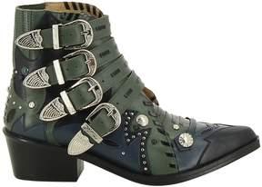 Toga Pulla Embellished Biker Boots