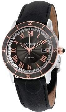 Cartier Ronde Croisiere Automatic Gray Dial Men's Watch