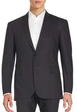 Ralph Lauren Black Label Plaid Wool Jacket