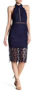 Bardot Gemma Halter Lace Dress