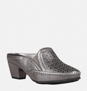 Avenue Sterling Perforated Heel Mule