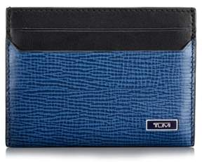 Tumi Men's 'Monaco' Slim Leather Card Case - Blue