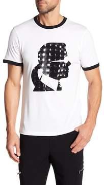 Karl Lagerfeld Short Sleeve Silhouette Tee