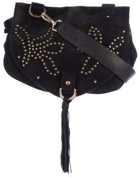 See by Chloe Suede Embellished Crossbody Bag w/ Tags