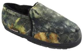Muk Luks Men's Camouflage Closed Back Slipper