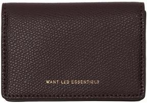 WANT Les Essentiels Purple Lambert Card Holder