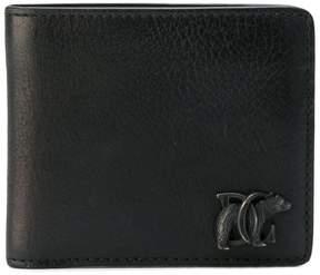 DSQUARED2 DC logo wallet