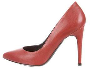Barbara Bui Leather Pointed-Toe Pumps