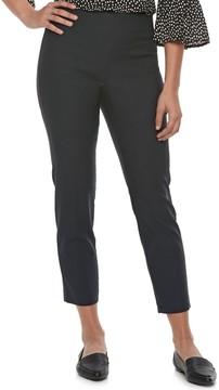 Elle Women's Pull-On Ankle Dress Pants