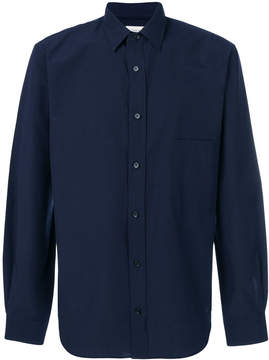 Lemaire long sleeved buttoned shirt