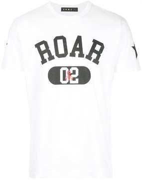 Roar logo print T-shirt