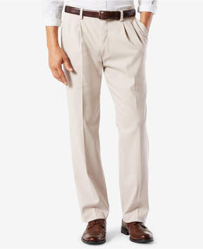 Dockers Stretch Classic-Fit Pleated Easy Khaki Pants