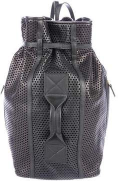 Jerome Dreyfuss Perforated Leather Backpack