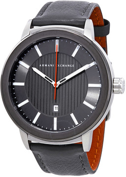 Armani Exchange Grey Sunray Dial Men's Watch