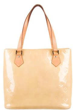 Louis Vuitton Monogram Vernis Houston Tote - BROWN - STYLE