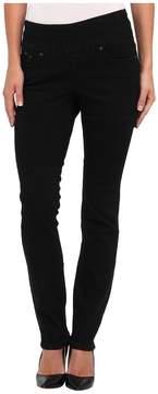 Jag Jeans Malia Pull-On Slim in Black Void Women's Jeans