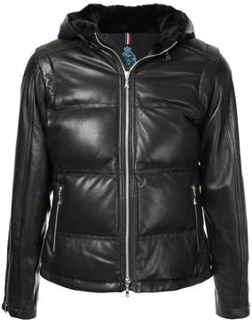 GUILD PRIME zipped padded jacket