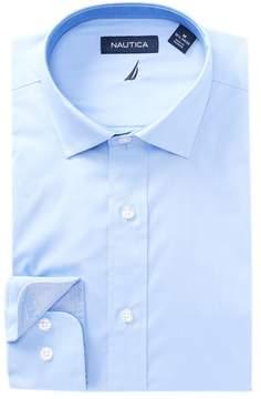 Nautica Pinpoint Classic Fit Dress Shirt