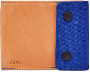 Fossil Men's Gabe Rfid-Blocking Snap Bifold Wallet