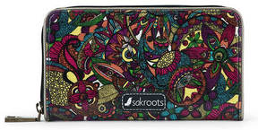 Sakroots Artist Circle Large Zip Wallet